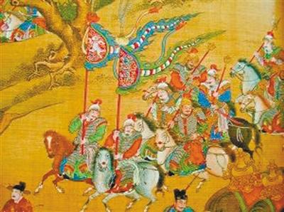 清朝在继承明朝这套国家人安保体系的同时对卫人员的选拔有