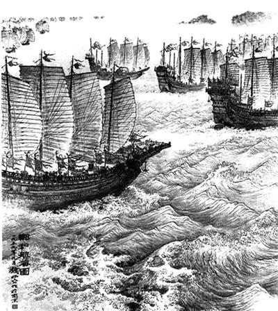 木质帆船能否承受洋面上的狂风巨浪?