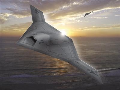"""""""神经元""""无人战斗机的特色就是其可以进行自主空中编队飞行,而且可以"""