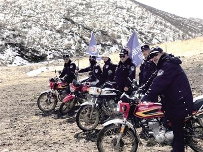 雪域高原上的骑行