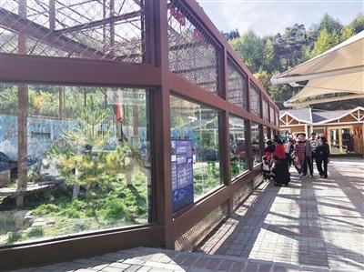 在西宁野生动物园欢度假日