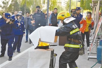 海东:119消防宣传月正式启动