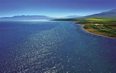 """青湖之大,是洁净的""""高原蓝""""―"""