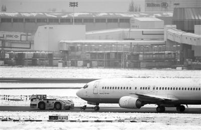寒冷天气导致大量航班延误