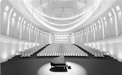 西宁市地处高原,四面环山,青海大剧院的设计也从这种独特的地形地貌