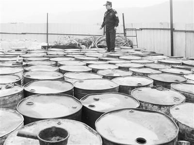 废油桶铁锅图片