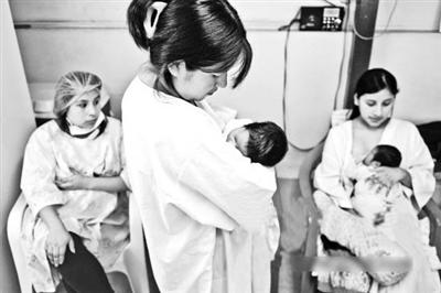 在位于广州市妇女儿童医疗中心珠江新城院区的母乳库