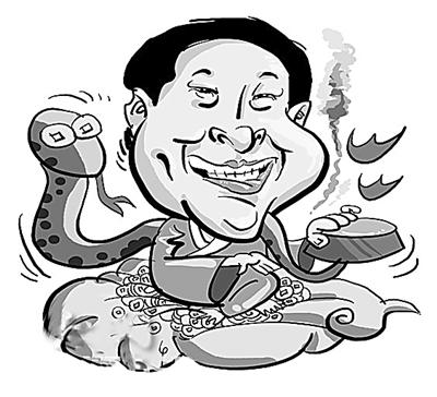 空盆变蛇是民间杂耍 7月26日,央视记者来到江西省芦溪县。位于芦溪县城人民西路上的王府显得异常安静,这是王林众多别墅中的一座,王府大门紧闭,只有两座金灿灿的石狮子守在门口。记者在大门口拍摄时一名男子走了过来,阻止记者拍摄。随后这名男子回到王府,紧关大门,与此同时,王林的手机也是一直处于忙音状态无法接通。不仅记者见不着他,平日一直在他身边为他工作的一些人也见不着他了。 自媒体报道之后,曾经十分高调的王林就不见了踪影。那么这位自称身怀绝技的气功大师,平日里是如何修炼的呢?据知情人透露,他平时在家