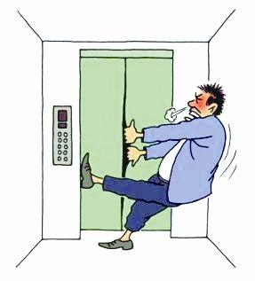"""""""经常停电,而且没有备用电梯, 到凌晨一两点才来电.总不能不回"""
