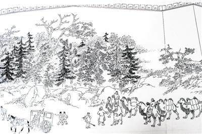 简笔画 手绘 线稿 400_266