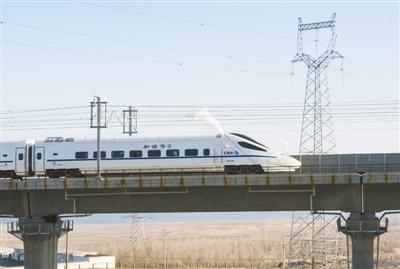 相比飞机而言,高铁的准点更不在话下